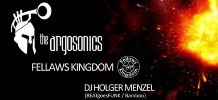 """Argosonics live im """"Orange Peel"""""""